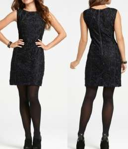 Ann Taylor Embroidered Lace Sheath Dress 0, 4, 2, 6, 8