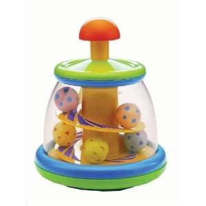 Infantino Spiral Spin Top Baby Toy