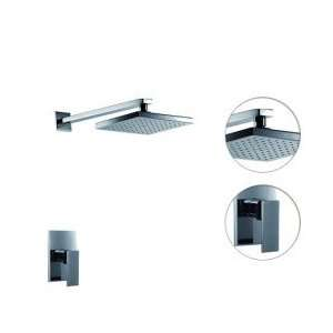 Chrome Wall mount Shower Faucet (0609   13812 00)