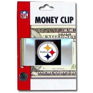 Pittsburgh Steelers Large Money Clip/Card Holder   NFL
