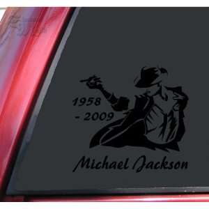 Michael Jackson 1958   2009 Vinyl Decal Sticker   Black