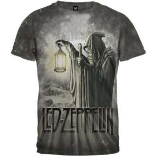 Led Zeppelin   Hermit Tie Dye T Shirt Clothing