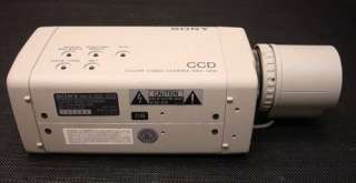 Sony SSC S20 CCD Color Camera Fujinon DF6B SND4 1 MINT $1,496.00 value