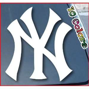 New York Yankees Car Window Vinyl Decal Sticker 5 Wide