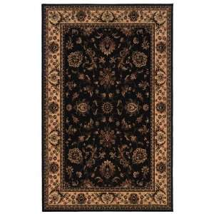 OW Sphinx Ariana Black / Ivory Rug Traditional Persian 8
