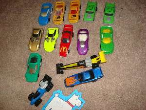 Old Lot Set 14 Hot Wheels Car Truck 1993 Diecast Toys