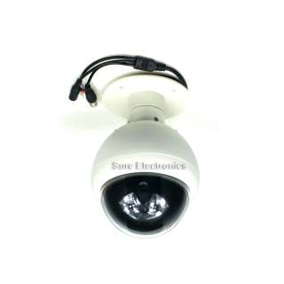 CCD Indoor/Outdoor 5 15MM Pan Tilt Zoom Dome Camera w 24 IR