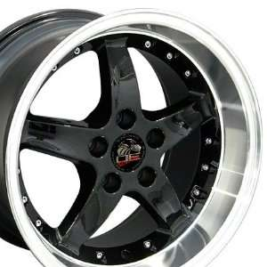 Cobra R Deep Dish Style Wheel with Rivets and Machined Lip