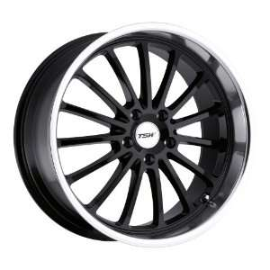 18 Inch 18x8 TSW wheels ZOLDER Gloss Black wheels rims Automotive