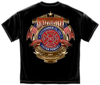 11 We will never Forget   Honor Service Sacrifice Firefighter EMT
