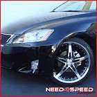19 LEXUS SC SC430 MRR GT5 BLACK STAGGERED WHEELS RIMS