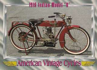 1916 Indian Model K Motorcycle Engine 13.5 cu. in. 1 Cylinder Rare