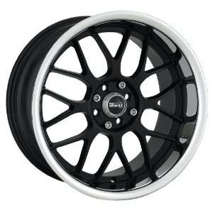 17x9 XXR 006 (Black w/ Machined Lip) Wheels/Rims 5x120/114