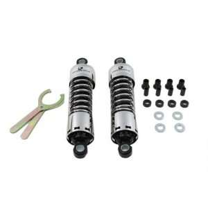 Chrome 13 Inch Progressive 412 Series Shock Set Suspension