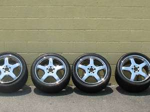 Mercedes Benz CL55 Rims Wheels Tires 19 inch Chrome