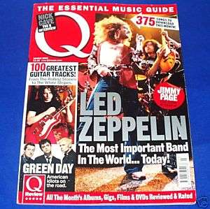 Magazine Mar 2005 Led Zeppelin Green Day Nick Cave UK