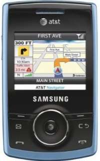 GOOD Samsung Propel A767 Slider GSM Phone Blue UNLOCK 899794005519
