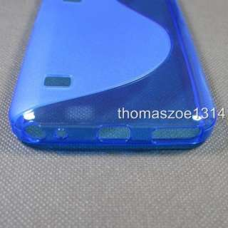 Blue Soft TPU Case Cover For Samsung Galaxy Player 70