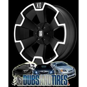 20x9 KMC XD SERIES wheels THUMP Matte Black wheels rims Automotive