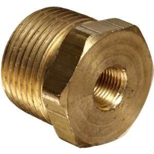 Anderson Metals Brass Pipe Fitting, Hex Bushing, 3/4 Male Pipe x 1/8