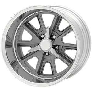 American Racing Vintage Cobra 15x10 Gray Wheel / Rim 5x4