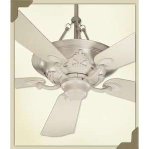 Salon Antique White Uplight 56 Ceiling Fan with Wall Control Home