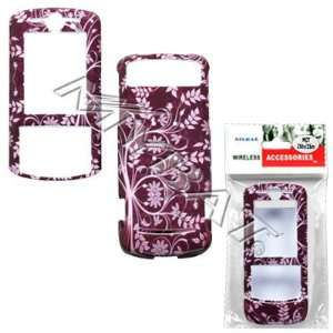 Purple Vine Tree Flower Case Cover Snap On Protective for