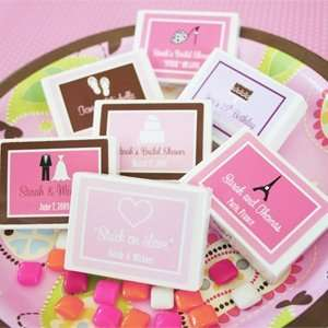 Stuck on Love Gum Boxes   Baby Shower Gifts & Wedding Favors Set of 24