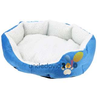 Soft Fleece Dog Cat Pet Puppy Kitten Winter Warm Bed House Nest Pad M