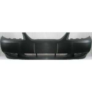 99 04 FORD MUSTANG FRONT BUMPER COVER, Raw, GL Model, with
