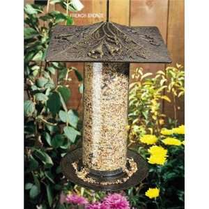 Trumpet Vine Tube Bird Feeder   12 Inch Patio, Lawn
