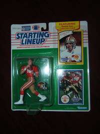 SLU 1990 Joe Montana San Francisco 49ers w/ cards