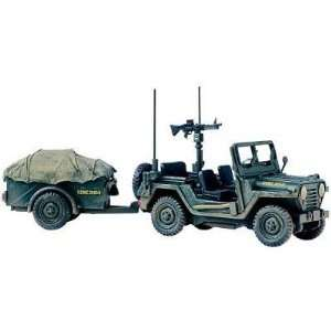 Corgi Unsung Heroes   M151 A1 MUTT Utility Truck with Trailer