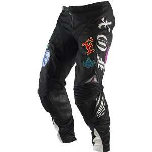 Fox Racing Platinum Steel Faith Mens MX Motorcycle Pants w/ Free B&F