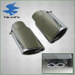 Chrome Exhaust Tips Dual Tip Toyota Camry Avalon Lexus