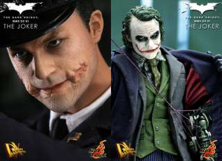 Hottoys Batman Dark Knight Joker Figure DX01