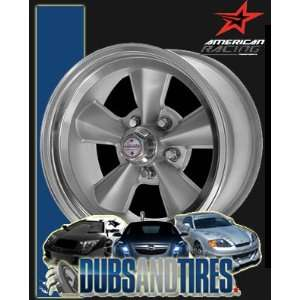 17 Inch 17x7 American Racing wheels wheels T70R GUN METAL w/ Mach. Lip
