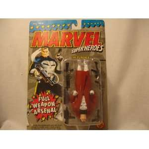 MARVEL SUPER HERO FIGURE THE PUNISHER/*RARE*