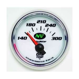 NV Series Analog Gauges Gauge, NV, Oil Temperature, 140 300 Degrees