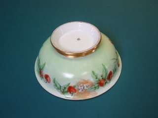 Beautiful ANTIQUE T&V Hand Painted SIGNED LIMOGES Center Piece Bowl