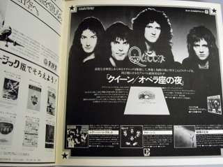 QUEEN Vintage Concert Program Book Japan Tour 1976 RARE