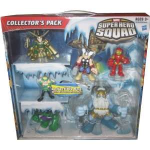 MARVEL SUPER HERO SQUAD 6 FIGURE COLLECTORS PACK Toys