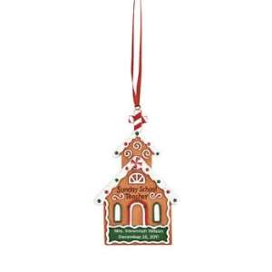 Personalized Sunday School Teacher Ornament   Party Decorations