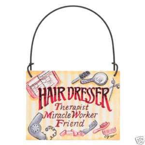 Hairdresser SIGN Hair Stylist Sign SALON BEAUTY SHOP