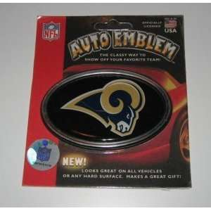 ST. LOUIS RAMS COLOR AUTO CAR TRUCK EMBLEM