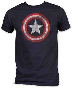 CAPTAIN AMERICA Shield tee t Shirt NEW Marvel Comics