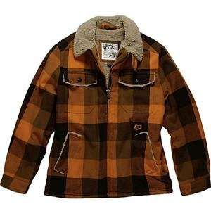 Fox Racing Spaceland Jacket   Medium/Burnt Orange