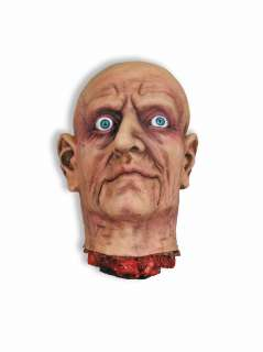 Large Open Eye Cut Off Bloody Scary Head Halloween Prop