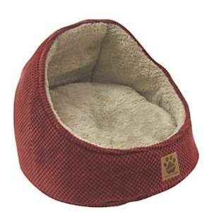 Precision Pet Hooded Cat Bed   Dark Rust Bump Chenille (Quantity of 1)