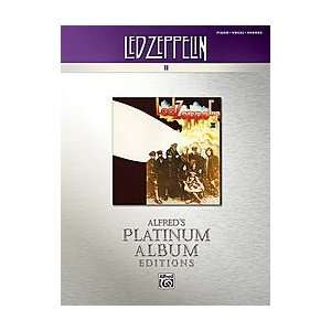 Led Zeppelin II Platinum Album Edition Book, Alfred